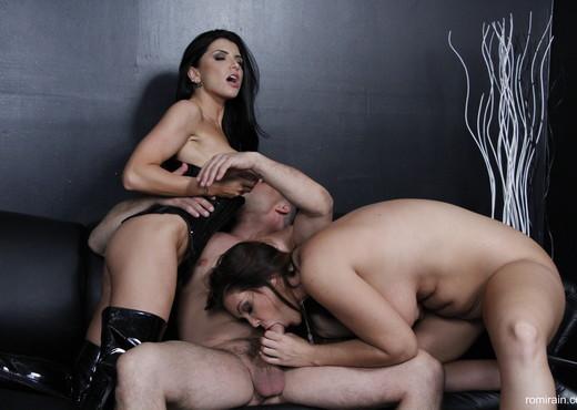 Romi Rain - 3-Way Hardcore Sex with Alison - Hardcore Nude Pics