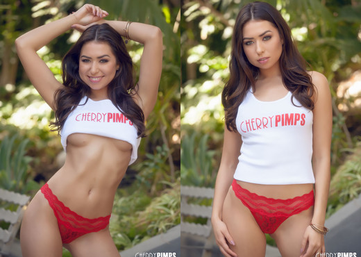Melissa Moore Represents Cherry Pimps - Cherry Pimps - Solo Nude Gallery
