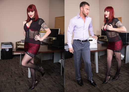 Amber Ivy - Big Tits Office Chicks #04 - Devil's Film - Hardcore TGP