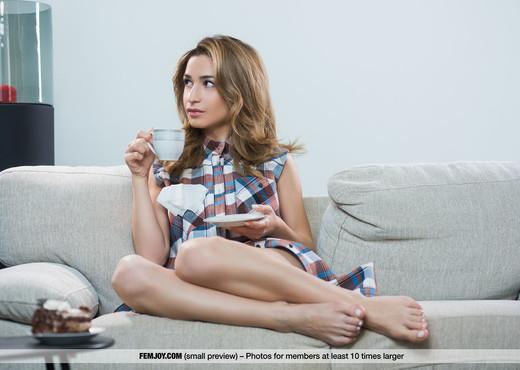 Tea Time - Davina C. - Femjoy - Solo Sexy Gallery