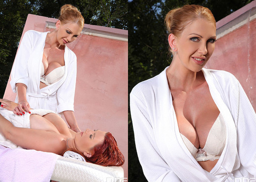 Leigh Darby, Vanessa - Sensual And Slippery - Boobs Sexy Gallery