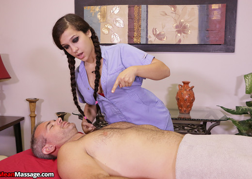 Annika Eve: Denied Orgasm - Mean Massage - Hardcore Sexy Photo Gallery