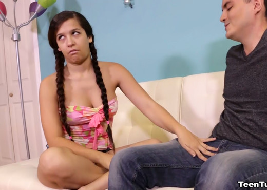 Annika Eve Consoles Her Step Brother - Teen Tugs - Teen Picture Gallery