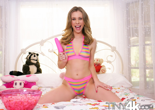Anya Olsen - Naughty Bedtime - Tiny 4K - Hardcore Nude Pics
