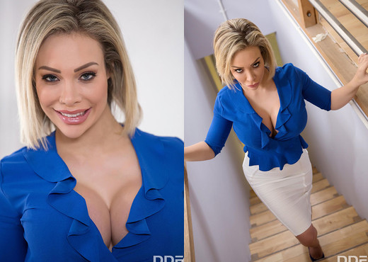 Chessie Kay - Big Tits Splashed With Spunk - Blowjob Sexy Gallery