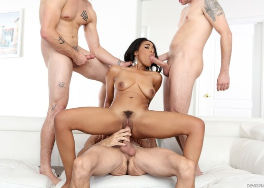 Jenna Foxx - White Out #06 - Devil's Film - Ebony Nude Pics