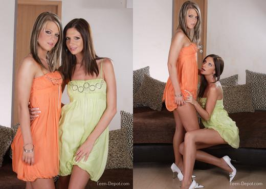 Teen Depot - Trisha and Zsusza - Lesbian Nude Gallery