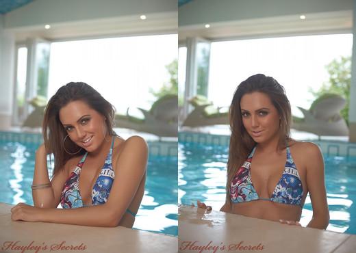 Jamie Jenkins - Cheeky Swim - Hayley's Secrets - Solo Nude Pics