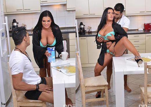 Jasmine Black - Breasty Breakfast - Hardcore Porn Gallery