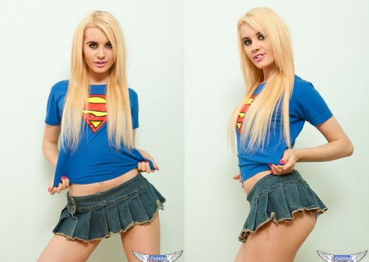 Miss Brook - Super Girl - SpunkyAngels - Solo Hot Gallery