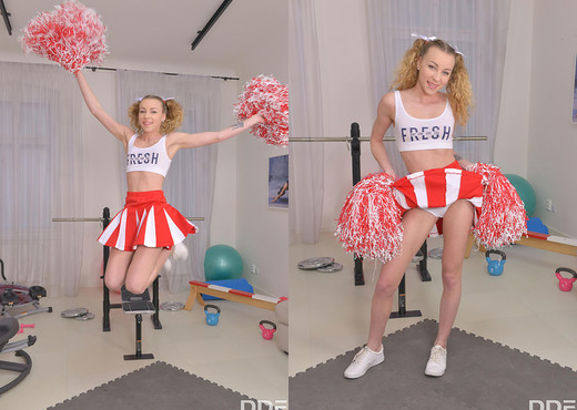 Angel Emily - Teen Roping At The Gym - Anal Image Gallery