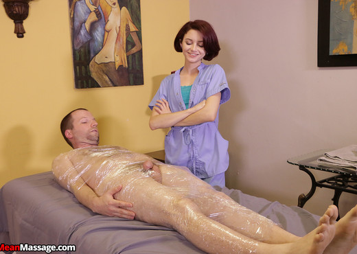 Lola Fae: Wrapped and Bound - Mean Massage - Hardcore Hot Gallery