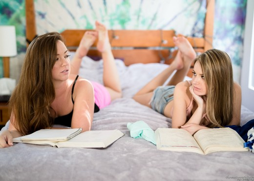 Maddy OReilly, Scarlett Sage - Practice Makes A Happy Ending - Lesbian Sexy Photo Gallery