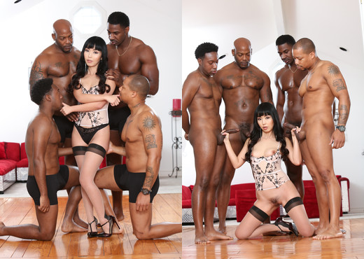 Marica Hase - Blacked Out #09 - Devil's Film - Interracial Nude Gallery
