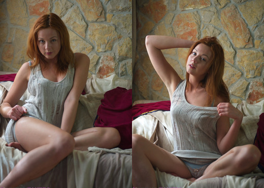 Elen Moore - Soft Blue - BreathTakers - Solo Sexy Gallery