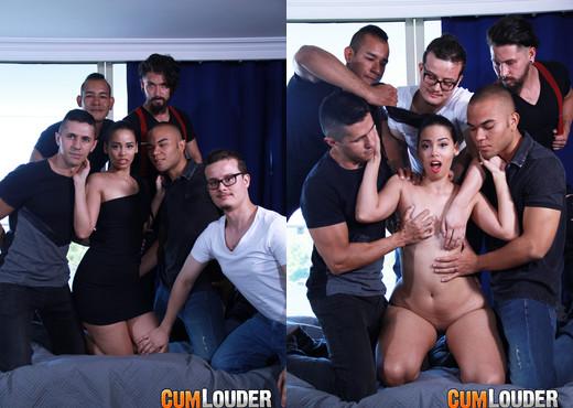 Andreina DLux - Amaranta Hank's Porn Casting - CumLouder - Hardcore Porn Gallery