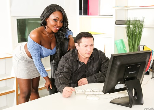 Osa Lovely - I Like Black Girls #06 - Devil's Film - Ebony Porn Gallery