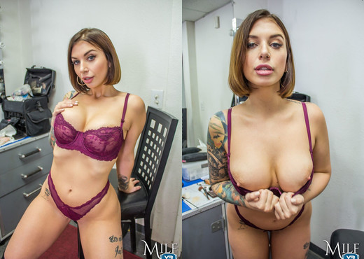 MilfVR - Backstage Ass - Ivy LeBelle - Anal Hot Gallery