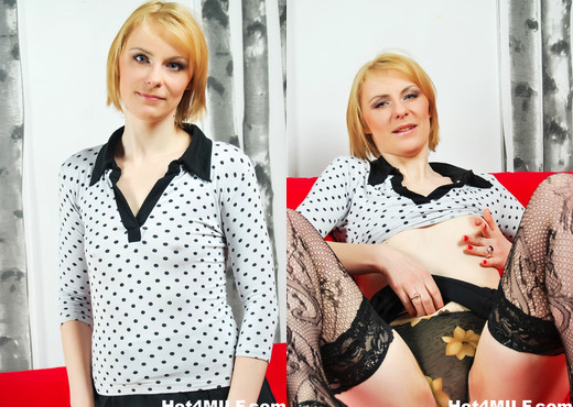 Dirty blonde MILF blows and rims him - Hot 4 MILF - MILF Sexy Gallery