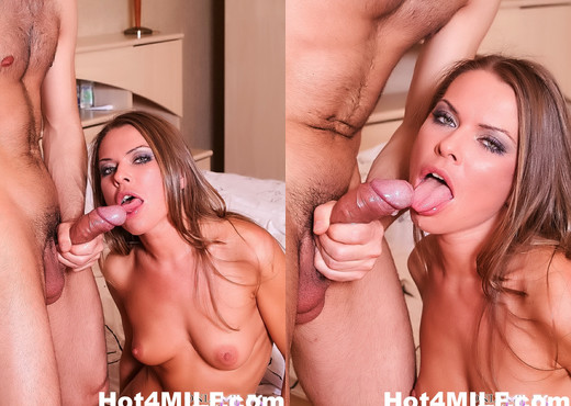 Gorgeous MILF Lisa gets fucked on the bed - Hot 4 MILF - MILF Picture Gallery