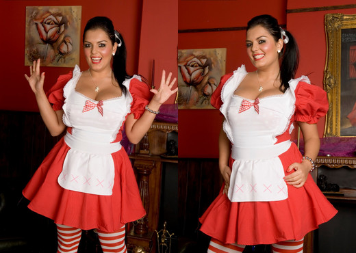 Jasmine Black very very naughty dressed up as an elf - Hardcore Sexy Photo Gallery