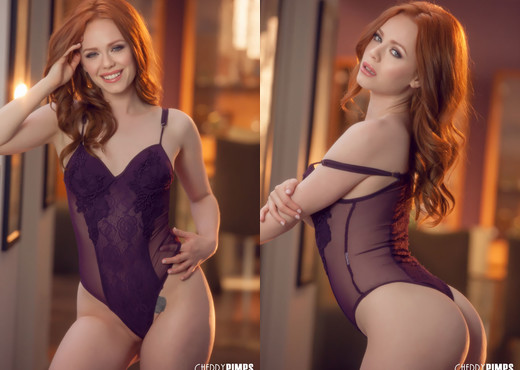 Ella Hughes Strips Out of Her Lingerie - Cherry Pimps - Solo Sexy Gallery