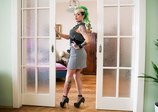 Phoenix Madina: 1st Double Anal Scene! - Evil Angel - Hardcore Sexy Gallery