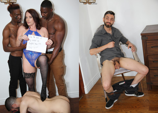 Maggie Green - Cuckold Sessions - Interracial Hot Gallery