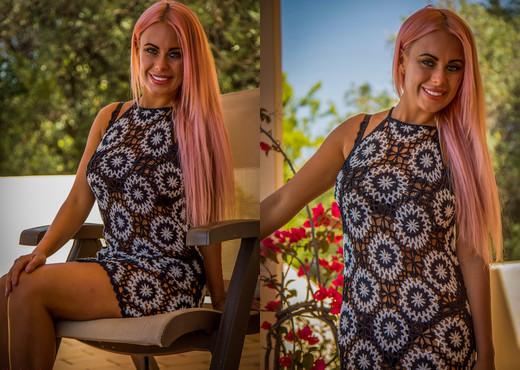 Laila - Balcony Beauty - Hayley's Secrets - Solo Nude Pics