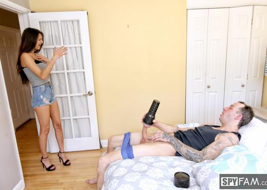Eliza Ibarra - Horny Stepsis Rocks Stepbro's Huge Cock - Hardcore Sexy Gallery