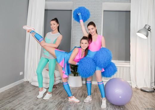 Cutie Cheerleader Party - 21Sextury - Lesbian Hot Gallery