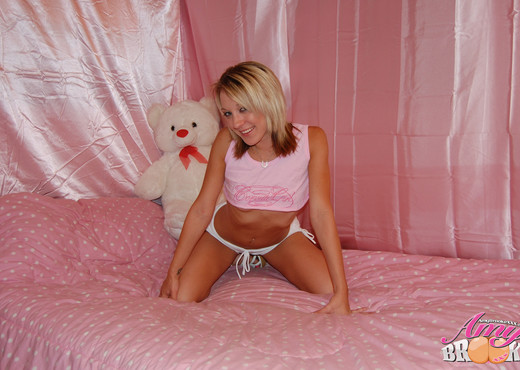 Amy Brooke in Tight Ass Teddy Bear - Solo Picture Gallery