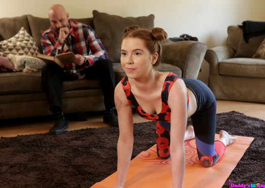 Pepper Hart - Yoga With Daddy - S2:E5 - Daddy's Lil' Angel - Hardcore Nude Pics