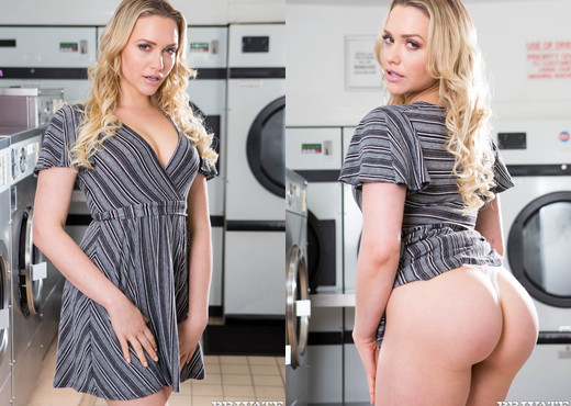 Mia Malkova, horny in the laundrette - Private - Hardcore Image Gallery