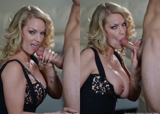 Rachael Cavalli in Good Day To Suck Cock - Blowjob Sexy Photo Gallery
