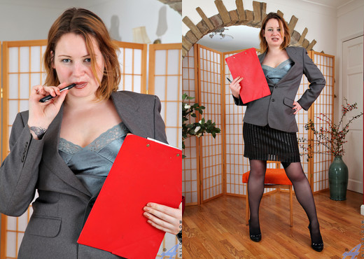 Amber West - Office Play - Anilos - MILF Hot Gallery