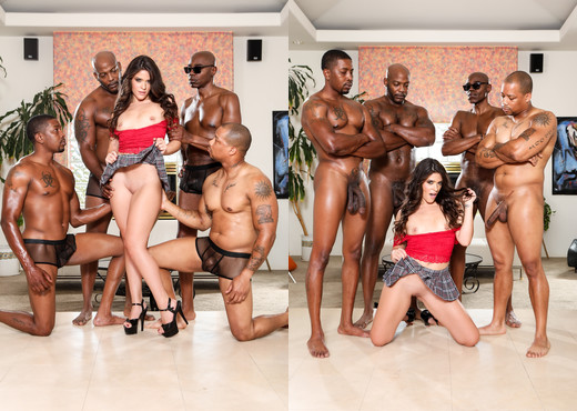 Victoria Voxxx - Blacked Out #10 - Devil's Film - Interracial TGP