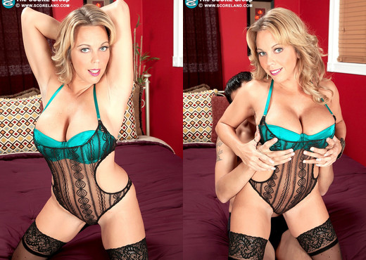 Amber Lynn Bach - Oily To Bed - ScoreLand - Boobs Image Gallery