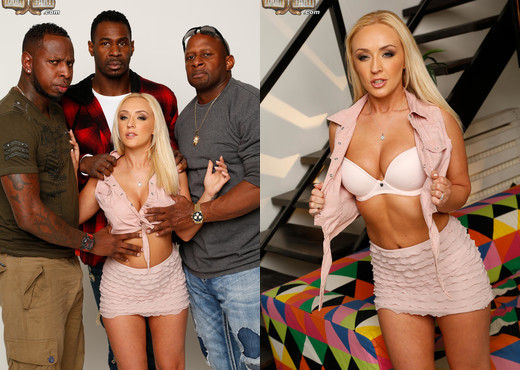 Amber Deen - Blacks On Blondes - Interracial Image Gallery