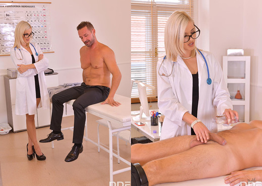 Ria Sunn - Spanking At The Clinic - Hardcore Sexy Photo Gallery