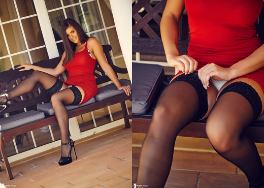 Brook Wright - Holdup Hottie - More Than Nylons - Solo Picture Gallery