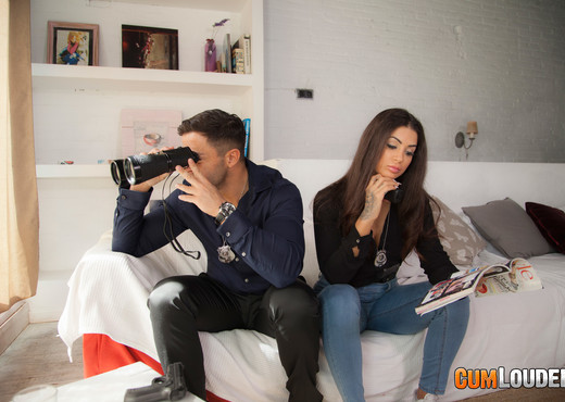 Susy Gala and Nick: Fuck-buddies in crime - CumLouder - Hardcore TGP