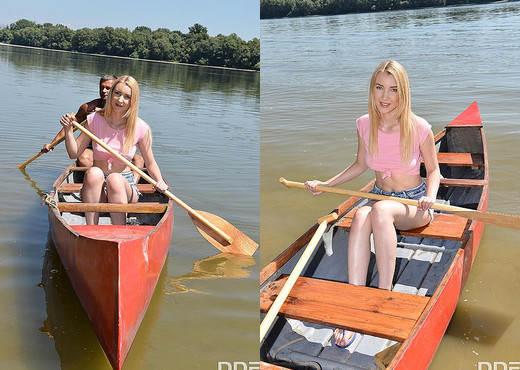 Amaris - Riverside Romp - Teen Hot Gallery
