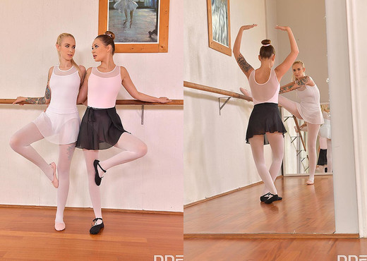 Mia Ferrari, Arteya - Foot Fetish Ballerinas - Feet TGP
