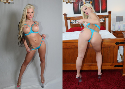 Barbie Sins - Blacks On Blondes - Interracial Nude Pics