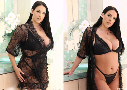 Angela White - Doing Double Duty - Hardcore Sexy Photo Gallery