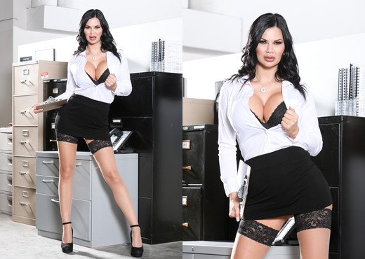 Jasmine Jae - Big Tit Office Chicks #06 - Devil's Film - Hardcore HD Gallery