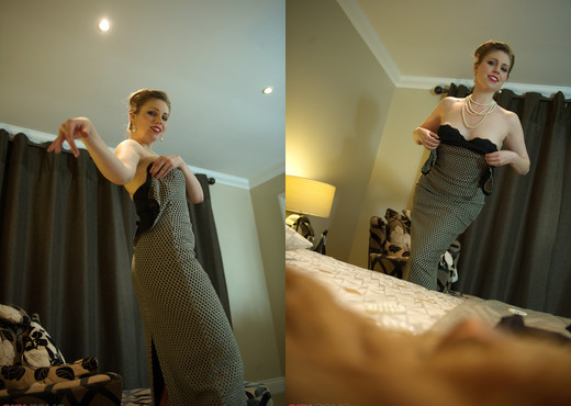 Ingrid - Bedroom Burleaque - Girlfolio - Solo Nude Gallery