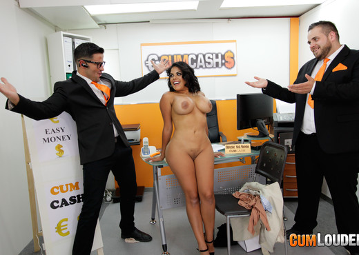 Kesha Ortega - Kesha applies for a Cumcash loan - CumLouder - Hardcore TGP