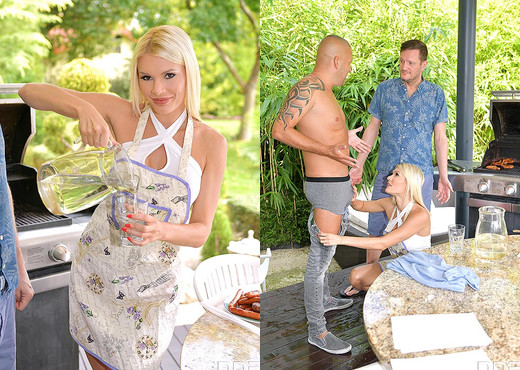 Kitana Lure - Blondie Wants Two Dicks - Hardcore Sexy Photo Gallery